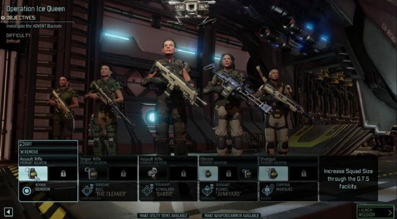 You have to pick the right team in XCOM 2.
