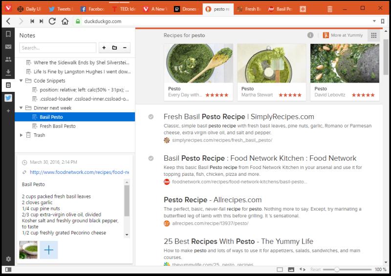 Vivaldi Browser 1.0