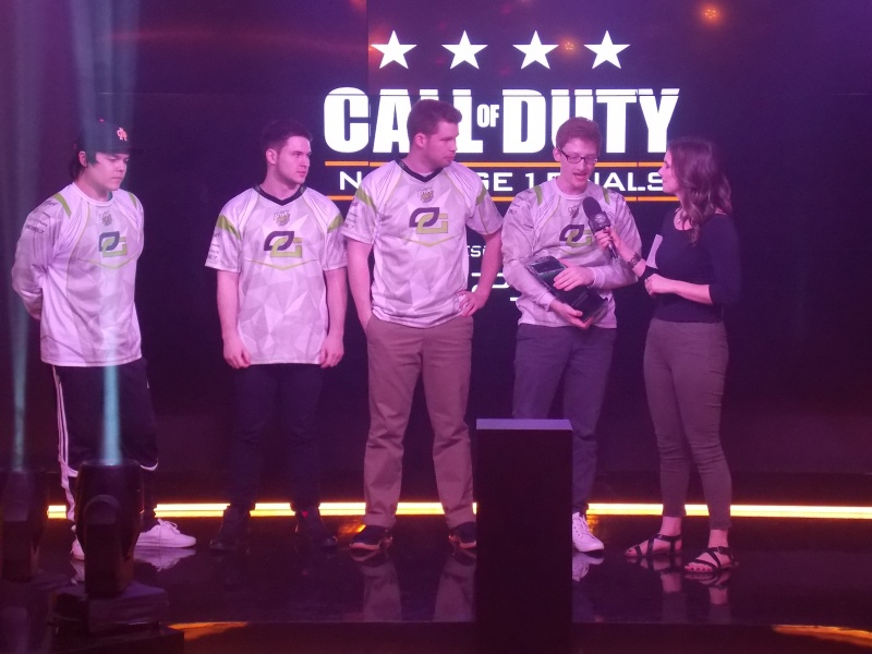 Call of Duty World League: NA Stage 1 Finals winners