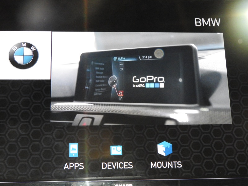 BMW has integrated GoPro into its cars.