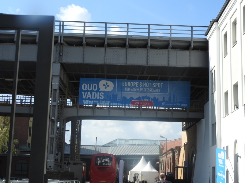 Quo Vadis is at Station Berlin