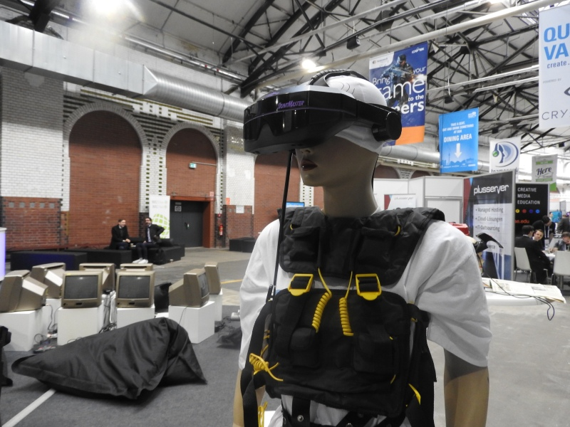 VR on display at Quo Vadis.