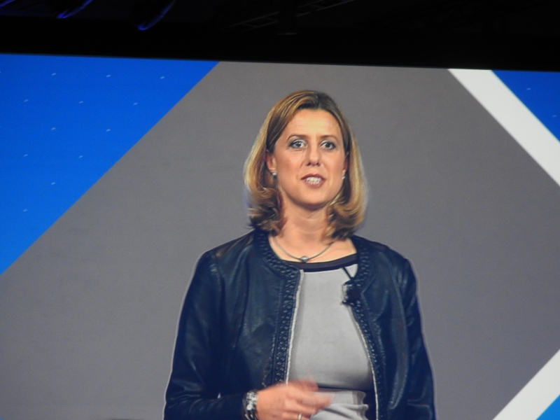 Nathalie Oestmann of Samsung Pay at SDC.