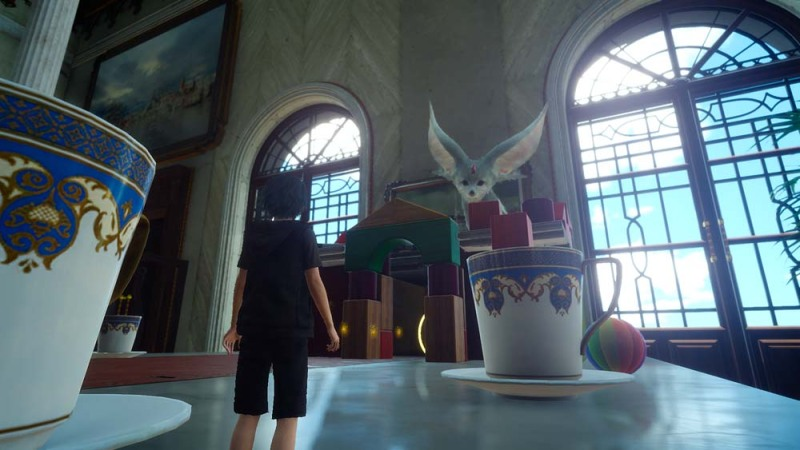 Final Fantasy XV: Carbuncle in Platinum Demo