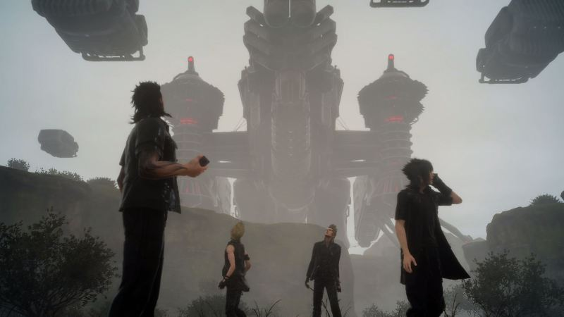 Final Fantasy XV: facing the empire