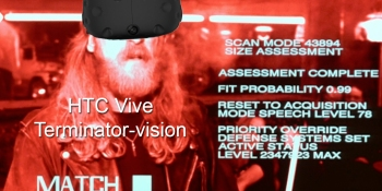 Why HTC Vive's camera gives you 'Terminator' vision