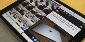 Google Docs and Sheets now support Split View on the iPad Pro
