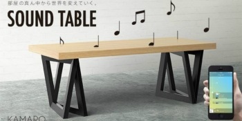 IoT startup Kamarq raises $3.2M to manufacture 'smart' tables that play music