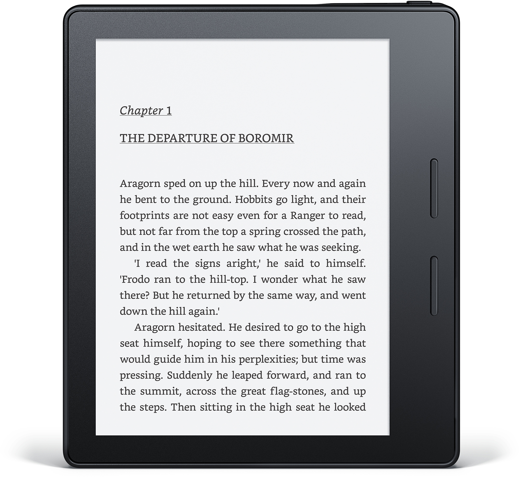 Amazon's Kindle Oasis