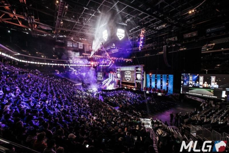 Major League Gaming's huge Counter-Strike event.
