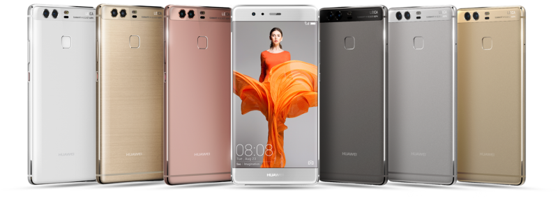 Huawei P9: All color variants