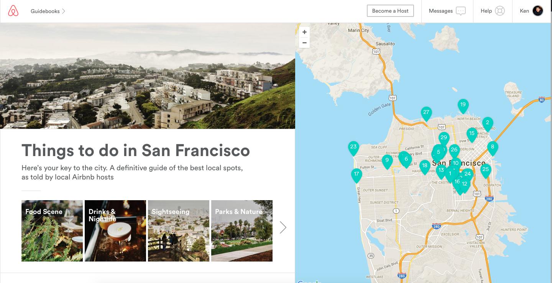 Airbnb San Francisco Guidebook