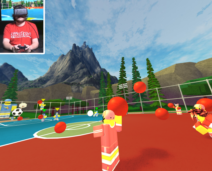 Roblox wants to reach players on every platform, and VR is no different.