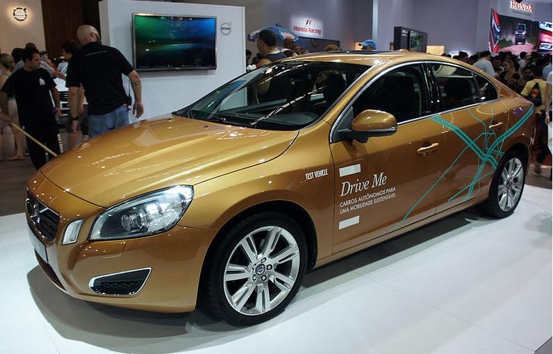 Volvo's self-driving car