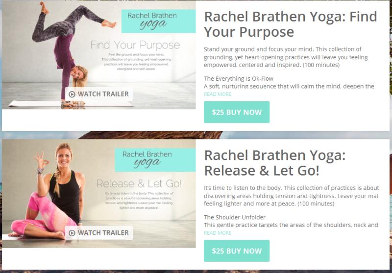 VHX: Yoga, with Rachel Brathen.