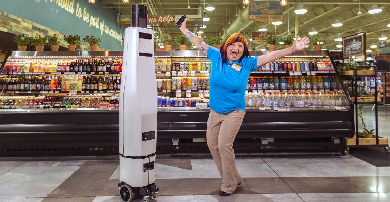Bossa Nova S Retail Robots Ensure Store Shelves Are Always