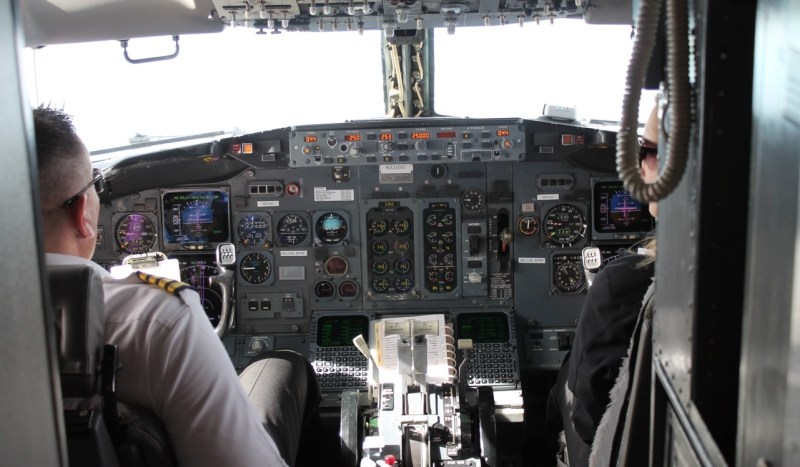 Gogo has its own pilots and flight attendants