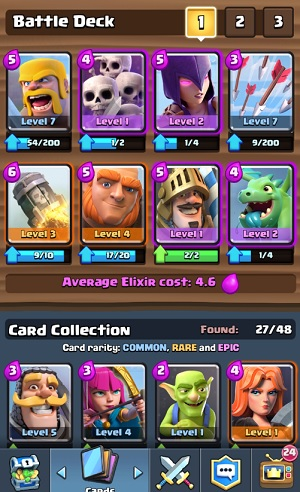 My Clash Royale deck now includes the deadly Prince.