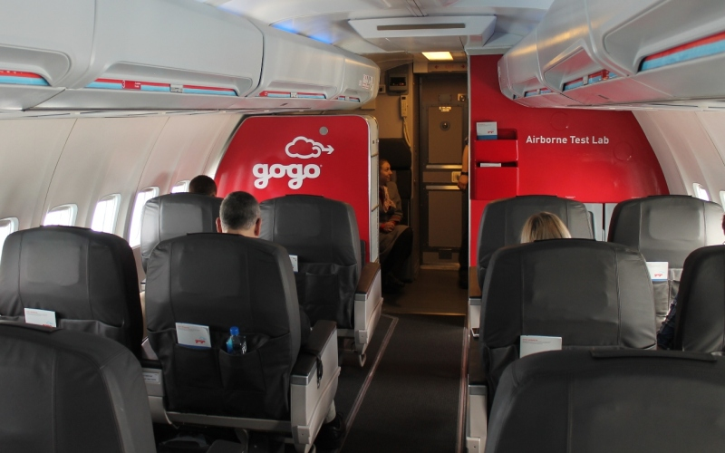 Gogo's Jimmy Ray: An airborne test lab