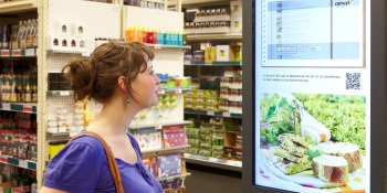 Study: Shoppers take to in-store video ads