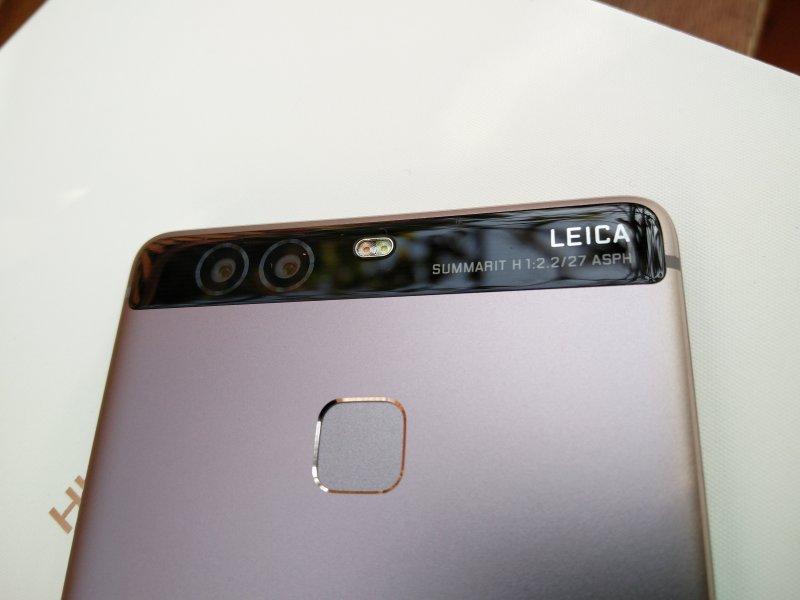 Huawei P9: Dual-lenses & Fingerprint Scanner