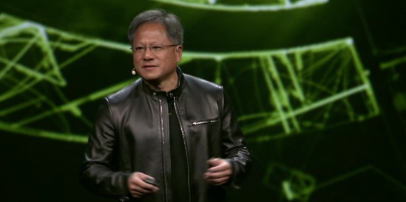 Jen-Hsun Huang, CEO of Nvidia at GPUTech 2016