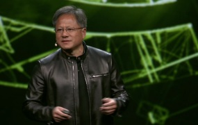 Jen-Hsun Huang, CEO of Nvidia at GPUTech 2016