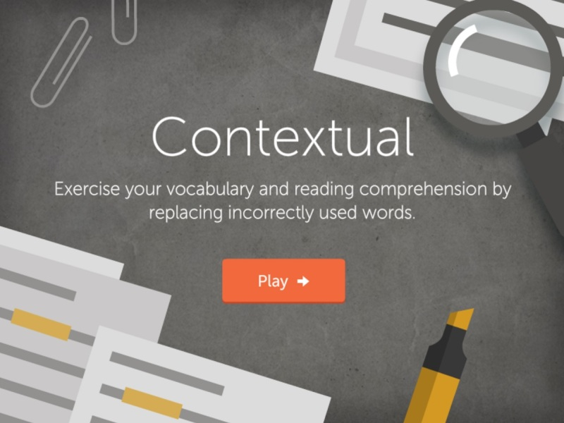 Lumosity's Contextual game tests your reading comprehension.