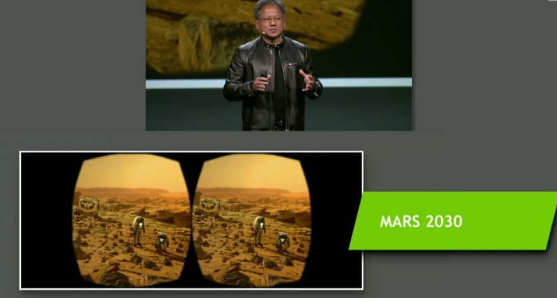 Mars re-created in VR.