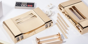 You can get this 24kt gold NES system for $5K