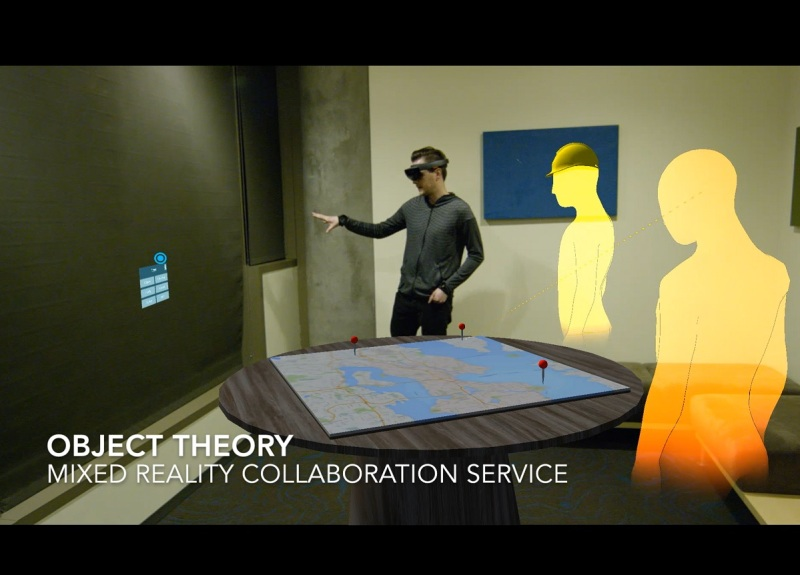 Object Theory's work for CDM Smith shows collaboration with HoloLens.