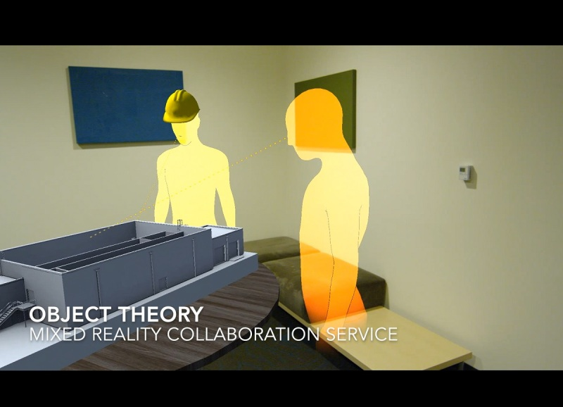 Object Theory shows how you can collaborate on a building design in HoloLens.