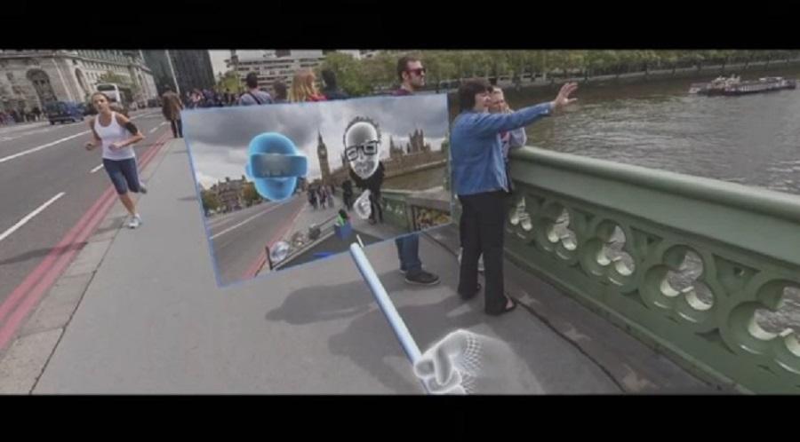 Taking a selfie in the Oculus Rift
