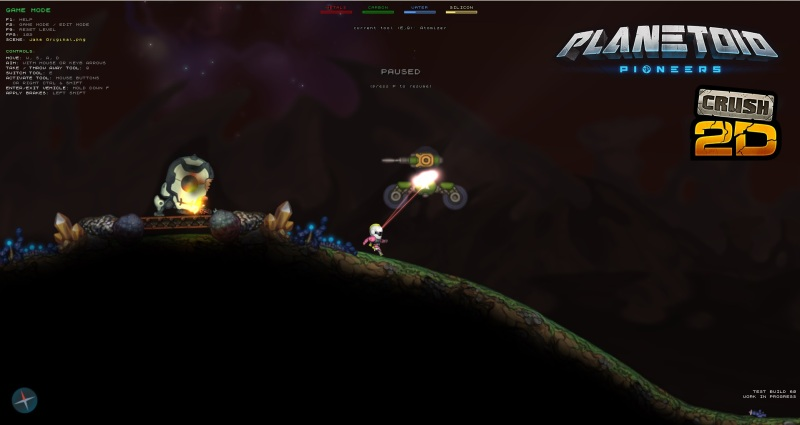 Planetoid Pioneers lets you design your own little world.