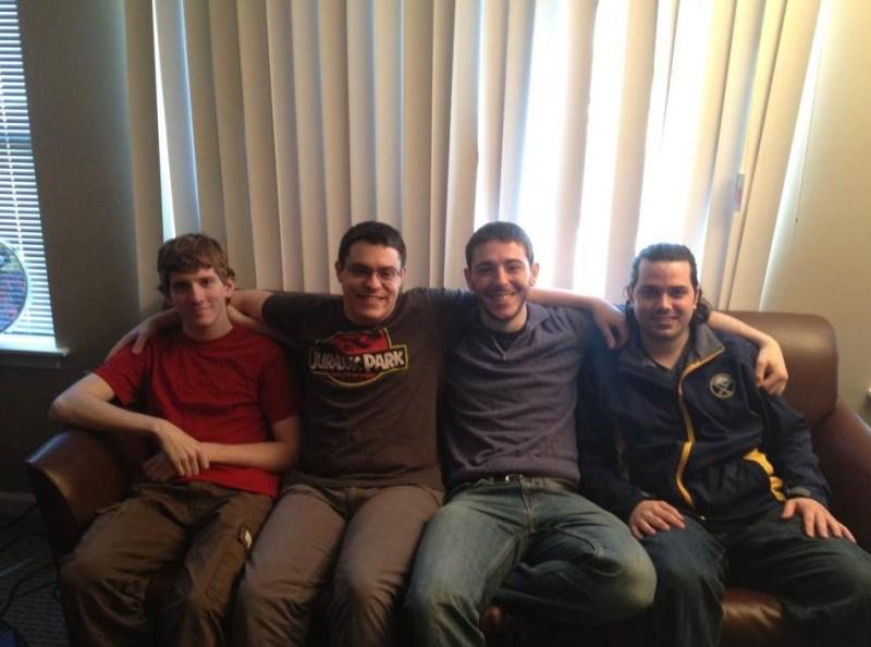 Plight creators (left to right) : Steve Sucy, James Castle, Brett Morris, and Aaron Fingar.