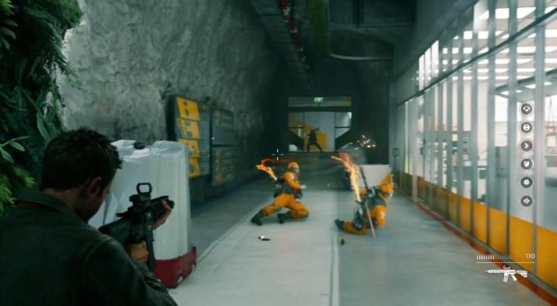Quantum Break firefight