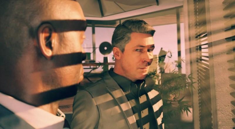 Quantum Break's Paul Serene with Martin Hatch.