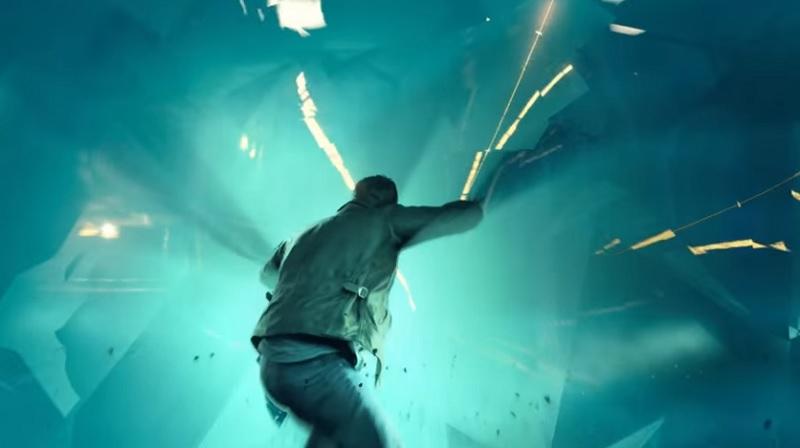 Quantum Break time shield stops incoming bullets.