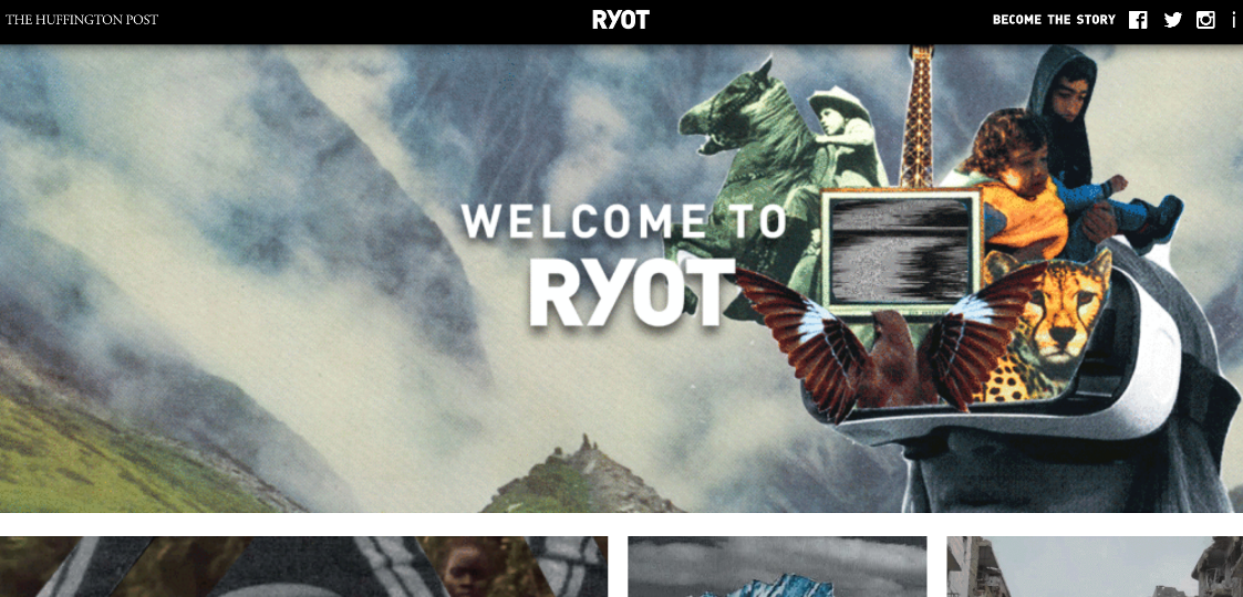 Ryot on Huffington Post