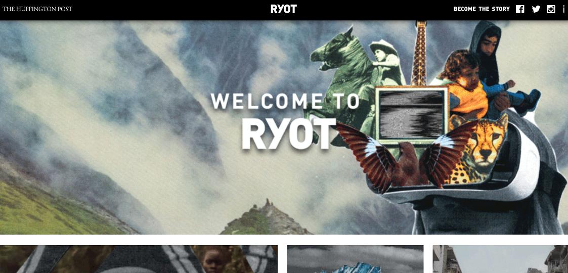 Ryot on Huffington Post