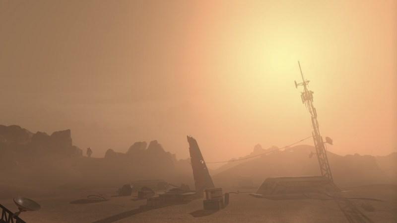 Mars in Project Sansar