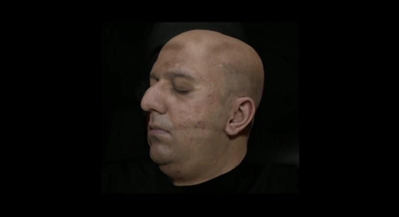 A captured avatar of Yaser Sheikh's head.