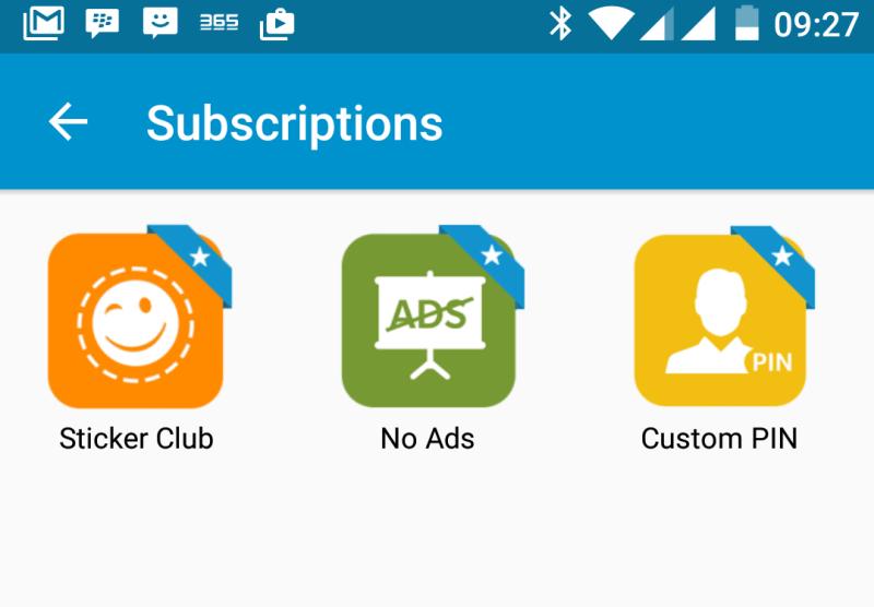 BBM Subscriptions
