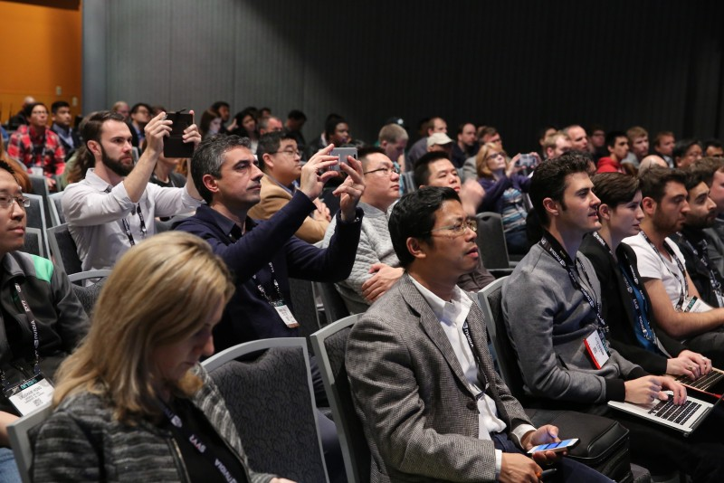 The crowd at SVVR 2016
