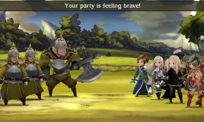 A brave party gets an extra turn.