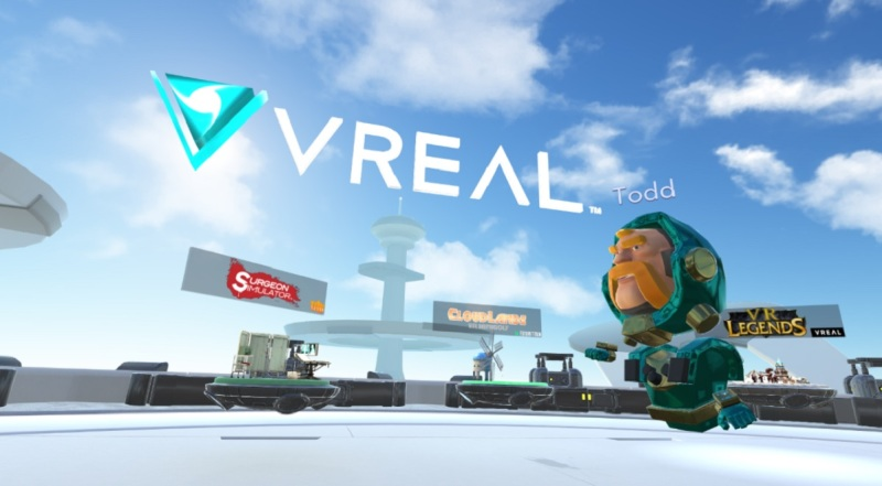 Vreal is like Twitch for VR.