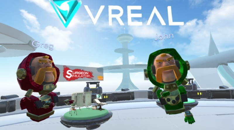 Vreal can teleport you into a VR game so you can be a