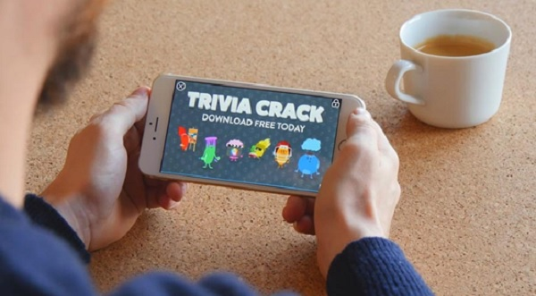 Trivia Crack is one of the games that has successfully used Vungle ads.