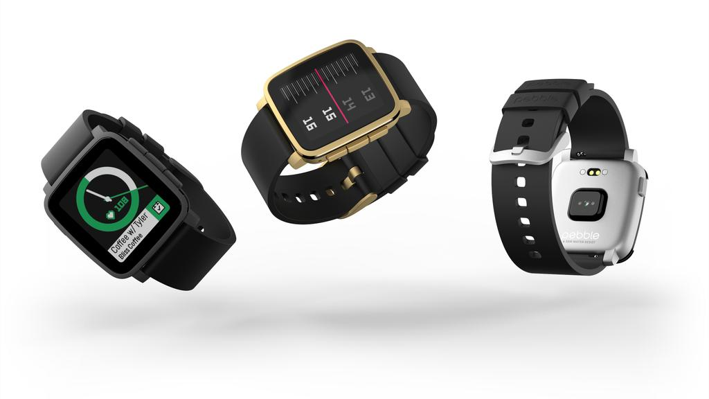 Pebble Time 2 in three colors