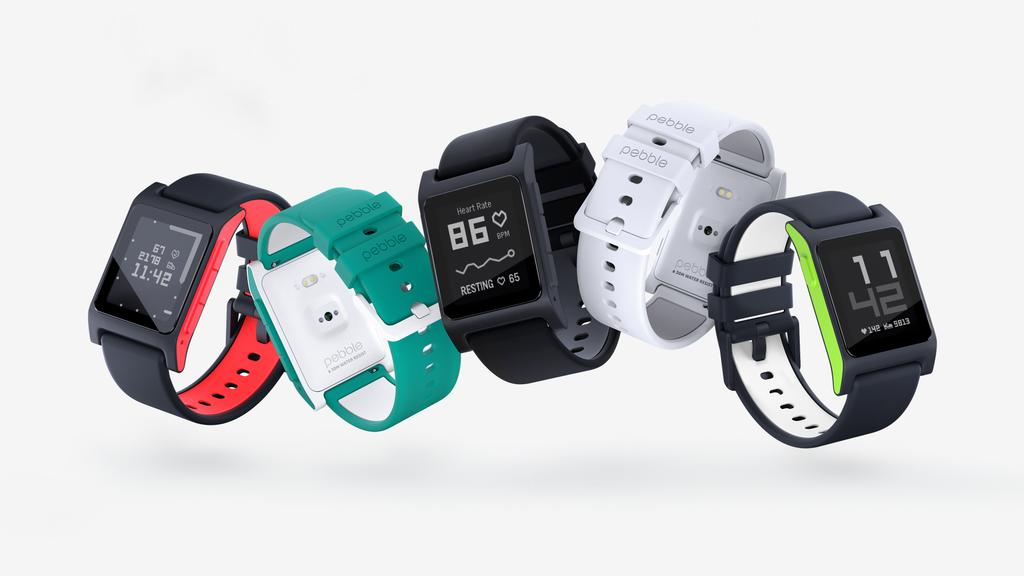 Pebble 2 in five colors